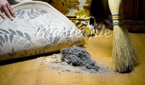 Dust under the rug