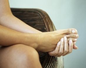 standing foot stress