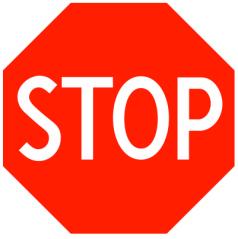 Stop Sign Warning