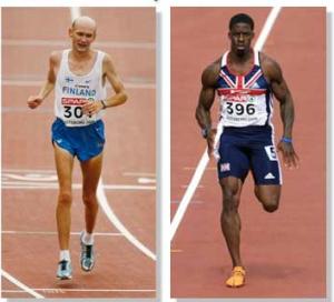 sprinter versus a marathon body
