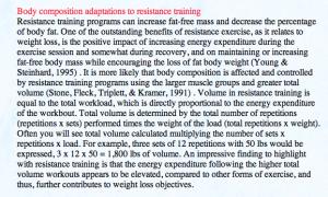 Weight loss versus Fat loss