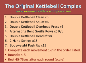 Original Kettlebell Complex